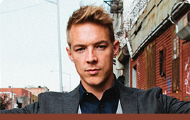 Diplo Photo with Mixed In Key Quote