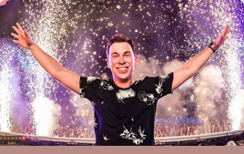 Hardwell Photo with Mixed In Key Quote