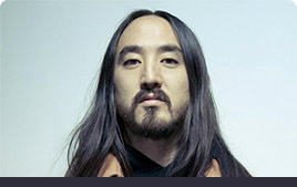 Steve Aoki Photo with Mixed In Key Quote